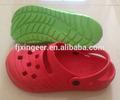 2015 nuevo sencillo de jardinería eva zueco de zapatos sandalia