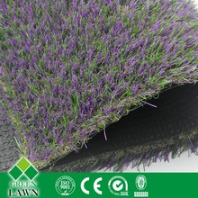 High density quality complex fake lawn for landscaping