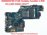 Original laptop motherboard for Toshiba Satellite C850 motherboard H000080780 intel HM77 ddr3 integrated