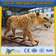 Cetnology Lifelike Animated Animatronic Simulation Leopard Model for Park