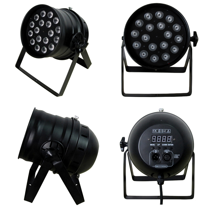 RGBA 4-in-18W*18pcs LED Stage Light