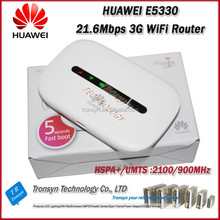 Hot Sale Original Unlock HSPA+ 21.6Mbps HUAWEI E5330 Portable 3G Wireless Access Point And 3G WiFi Hotspot Router