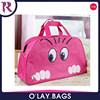 Lady Cute Nylon Cat Print Travel Bags Duffle Sport Bags bolsa saco sac