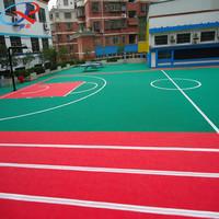 Oudoor multi-purpose sports court flooring