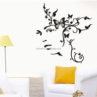 Personalized Decal Removable Modern Wall Art Decor for Bedroom