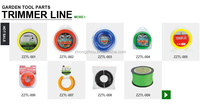heavy duty nylon trimmer line for brush cutter garden tool parts