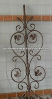 ornamental wrought iron bar for gate fence stair railings