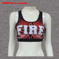 Sublimation practice wear all star cheer uniforms