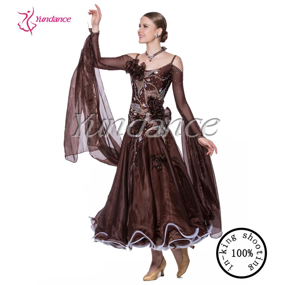 Nouveau professionnel de danse de salon femelle robe 2016 - Nom de danse de salon ...