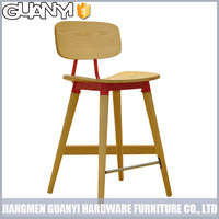 china wholesale all wooden long leg high back dining room chairs