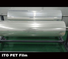 35ohm conductive transprent ito plastic sheet
