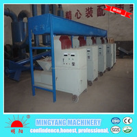 2015 professional boiler heating log briquette making machine with high capacity and promotion price