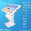 Free standing 42inch touch screen kiosk monitor