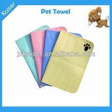 dog washing absorbent pva chamois pet towel