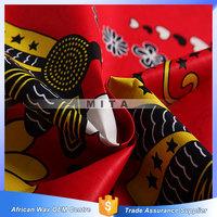 2015 african real Java wax kitenge fabric printed khanga
