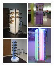 acrylic eye shadow display stands