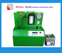 With fuel injector cleaner tester PQ1000 common rail injector test bench