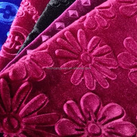italian silk fabric Fashion Korean velvet Fabric Supply by 10 years manufacturer experience factory from china