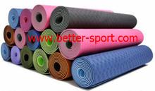 Durable TPE yoga mat, washable TPE yoga mat, folding TPE yoga mat
