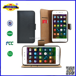 For Microsoft lumia 640 Genuine Real Leather Wallet Flip Case With High Quality