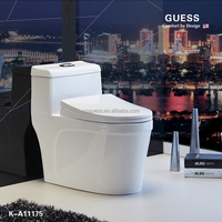 sanitary wares/siphonic one-piece toilet/white color toilet K-A11175