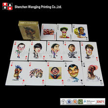 fancy cartoon playing cards. Customised playing cards .Personalized Cartoon Playing Cards Printing