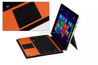 12' For MICROSOFT SURFACE PRO 3 KEYBOARD BLUETOOTH QWERTY Black Tablet PC PU Leather Case Cover Stand