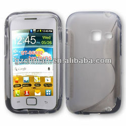 High quality s line soft rubber tpu case for samsung galaxy ace duos s6802 cover