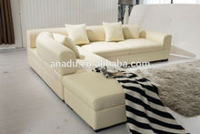 2015 lounge bar sofa fashionable pvc flocking inflatable one seat chair corner leather sofa sale