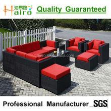 esterno di vimini divano di lusso hr1100