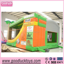 2014 hot sale elephant jumping castle house inflatable bouncer ,funny bouncy slide for kids play