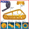 Construction machinery parts for bulldozer and excavator undercarriage parts   Excavator spare parts on sale