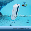 Famous quality 3G CE RoHS 3000mAh EVDO mifi router wireless pocket wifi router Up to 150Mbps