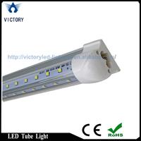 Free Shipping Aluminium Alloy and PC V shape 22w 4ft led cooler light