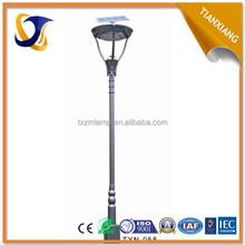 2015 golden supplier manufacturer waterproof high quality garden antique lamp posts