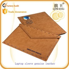LeatherLaptop Sleeve, Envelope genuine Leather 13-13.3 Inch Laptop bag case
