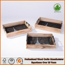 new design wood tray for sale set of 3