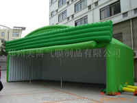 High quality green color event inflatable tent