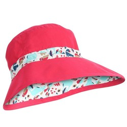 Headwear girl's 100%cotton folral free pattern children bucket hat