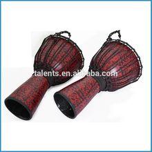 La cuerda tambor de áfrica/diferente tamaño de la fibra de vidrio djembe