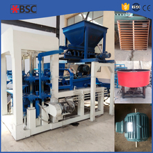 China baking free low investment fly ash concrete brick block machine with factory bottom price and promote delivery