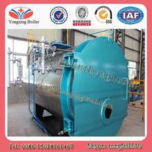Horizontal type fire tube automatically 8 tph natural gas steam boilers