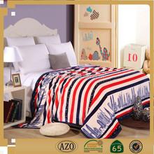 Popular Soft Microfiber Decorative Flannel Blanket