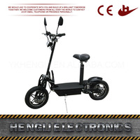 Good reputation factory price light weight electric scooter with german motor