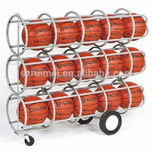 customized detachable wheeled basketball shelf