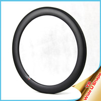 2015 YISHUNBIKE carbon bicycle wheel rim 700c 60mm tubular 25mm wide basalt brake track ud/3k light bicycle rim WU6T