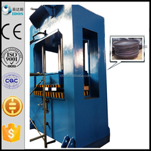 Press machine for dished seal heads, dished seal head press machine, H frame hydraulic press machine for dished seal heads