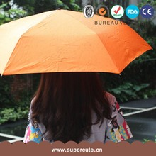 Branded Design orange color bbq grill umbrella
