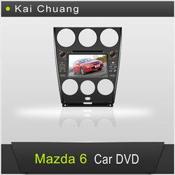 Factory Car Audio System Mazda 6 with GPS/DVD/Bluetooth