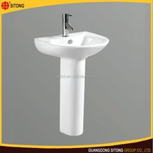 China hot sell basin hand wash basin with pedestal